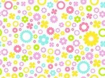 Fundo floral sem emenda Fotos de Stock