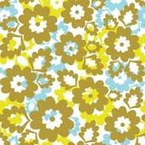 Fundo floral sem emenda. ilustração stock