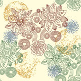 Fundo floral sem emenda. Imagem de Stock