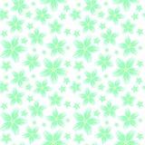 Fundo floral sem emenda com um teste padrão de grandes e flores pequenas nas cores pastel ilustração stock