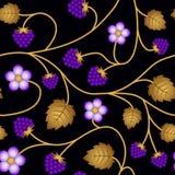 Fundo floral sem emenda do teste padrão ilustração royalty free