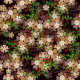 Fundo floral sem emenda do teste padrão Fotografia de Stock