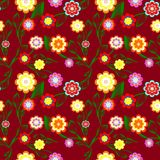 fundo floral sem emenda. vetor Imagens de Stock Royalty Free