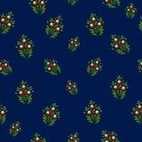 Fundo floral simples do teste padrão Imagens de Stock Royalty Free