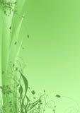 Fundo floral verde Fotografia de Stock Royalty Free