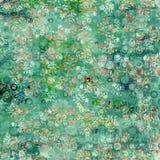 Fundo floral verde fresco Foto de Stock Royalty Free