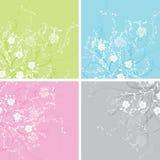 Fundo floral, vetor Imagens de Stock