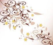 Fundo floral - vetor Imagem de Stock