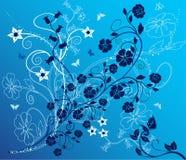 Fundo floral - vetor Foto de Stock Royalty Free