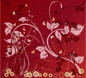 Fundo floral - vetor Imagens de Stock