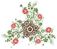 Fundo floral, vetor Fotografia de Stock