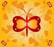 Fundo floral - vetor Imagens de Stock Royalty Free