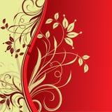 Fundo floral, vetor Imagem de Stock