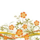 Fundo floral, vetor Foto de Stock