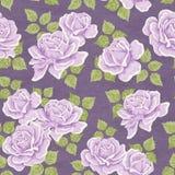 Fundo Flowery do papel de parede ilustração stock