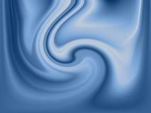 Fundo fluido azul Imagens de Stock