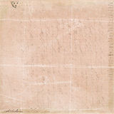 Fundo francês da colagem do certificado da letra do vintage Foto de Stock Royalty Free