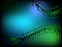 Fundo fresco azul esverdeado Imagens de Stock Royalty Free
