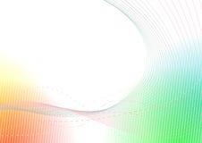 Fundo fresco colorido brilhante do verão ilustração stock