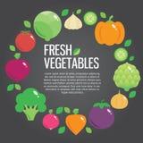 Fundo fresco saudável do alimento biológico com Fotos de Stock