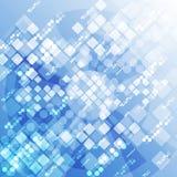 Fundo futurista abstrato da tecnologia digital vetor da ilustração Foto de Stock