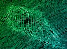 Fundo futurista abstrato da textura do papel de parede da tecnologia da informação Fotos de Stock