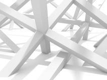 Fundo futurista abstrato do projeto do elemento da arquitetura Fotos de Stock