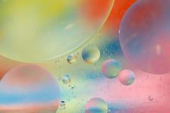Fundo futurista das bolhas Fotografia de Stock Royalty Free