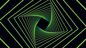 Fundo futurista de quadrados do movimento O movimento alinha o fundo abstrato Molde geométrico dinâmico elegante do estilo ilustração do vetor