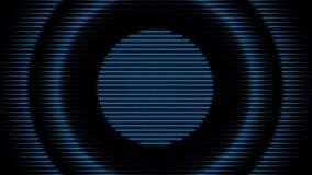 Fundo futurista do círculo Anel da energia da cor ilustração stock