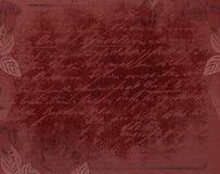 Fundo gótico vermelho Fotografia de Stock