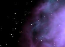Fundo galáctico Imagens de Stock Royalty Free