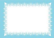 Fundo gelado do quadro ilustração do vetor