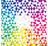 Fundo geométrico abstrato Imagens de Stock