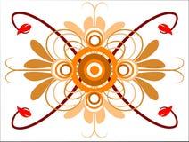 Fundo geométrico abstrato Imagens de Stock Royalty Free