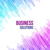 Fundo geométrico abstrato colorido do negócio Mosaico aleatório da violeta, as cor-de-rosa e as azuis das formas geométricas ilustração royalty free