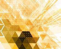 Fundo geométrico abstrato colorido para o projeto ilustração stock