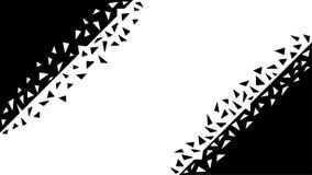 Fundo geométrico abstrato com formas quebradas ilustração do vetor