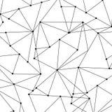 Fundo geométrico abstrato com polígono, Imagem de Stock Royalty Free