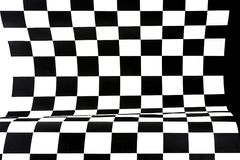 Fundo geométrico abstrato das figuras preto e branco Imagem de Stock Royalty Free