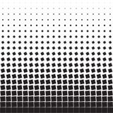 Fundo geométrico abstrato de quadrados de giro pretos Fotografia de Stock
