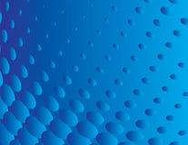 Fundo geométrico abstrato do azul Foto de Stock Royalty Free