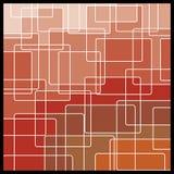 Fundo geométrico abstrato do mosaico ilustração do vetor
