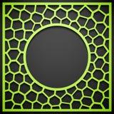 Fundo geométrico abstrato do quadro Imagens de Stock