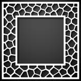 Fundo geométrico abstrato do quadro Fotos de Stock