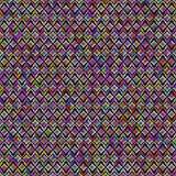 Fundo geométrico abstrato do teste padrão. Colorido Imagens de Stock