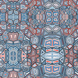 Fundo geométrico abstrato do teste padrão da cor Ilustração Stock