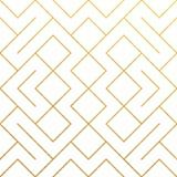 Fundo geométrico abstrato dourado do teste padrão com textura do brilho do ouro Vector o teste padrão ou o rombo e a linha sem em ilustração royalty free