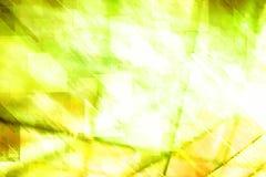 Fundo geométrico abstrato em tons da mola Fotos de Stock