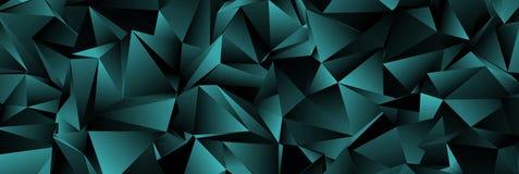 Fundo geométrico abstrato Textura ilustração stock